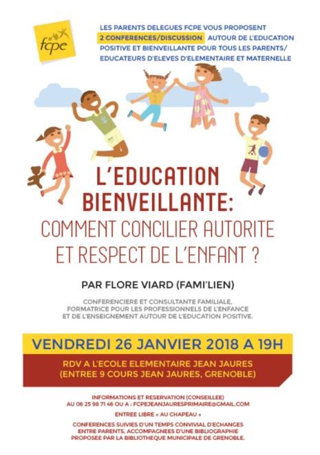 education bienveillante JJaures 2018-01